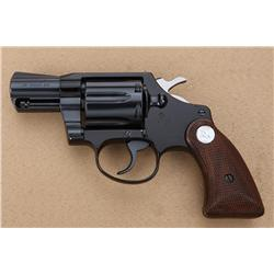 Colt Agent Model DA revolver in factory wood  grained cardboard box with insert and end  label .38 S