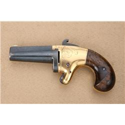 National Arms Co .41 caliber derringer  resembling #2 Colt, serial #1510. Refinished  condition, bar