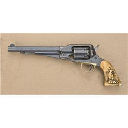 "Remington Model 1858 Single Action revolver,  .44 cal., 8"" octagon barrel, blue finish,  original pe"
