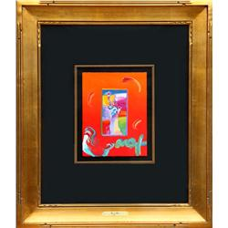 Peter Max, Statue of Liberty, Acrylic Painting