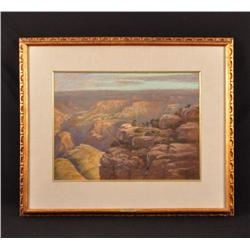 Joe Beeler Grand Canyon Painting CA