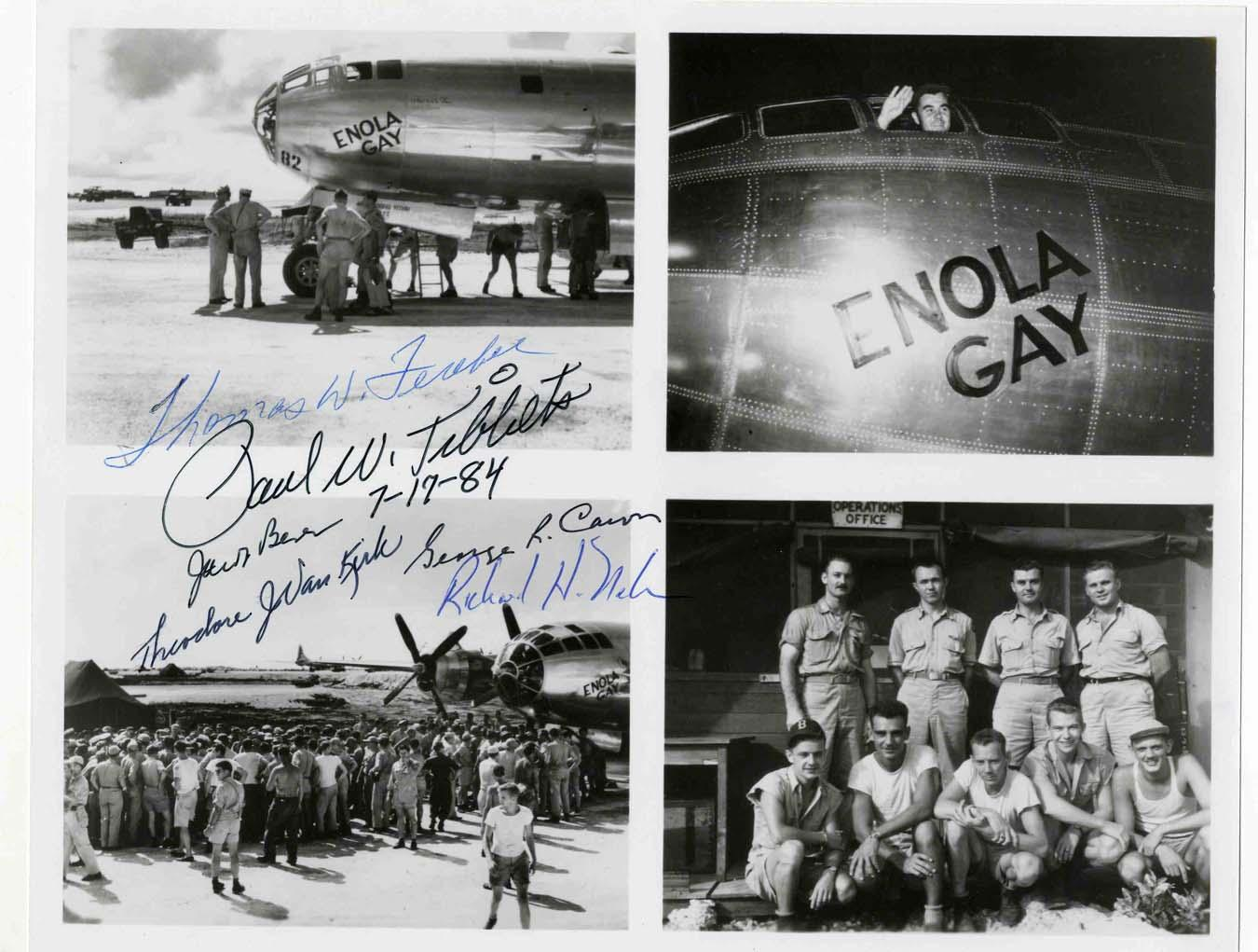 from Zaire enola gay named for