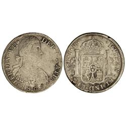 8 Reales. -  1809. -  MÉXICO. -  T.H. -  (Leves rayitas). Cal-539. MBC-. -  -