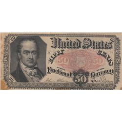 50 CENT FRACTIONAL CURRENCY 1875