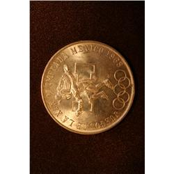 1968 Mexican Olympic Commemorative Coin