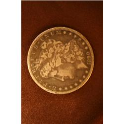 1890 Carson City Morgan Silver Dollar