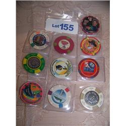 (10X The Money) Casino Chips. Some Are Rare.