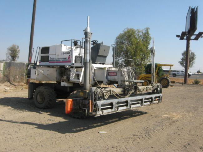 2000 Somero S-240 Laser Screed