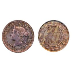 1876 (No H). Both ICCS and PCGS graded SPECIMEN-64. 40% remaining, evenly distributed luster. A rare