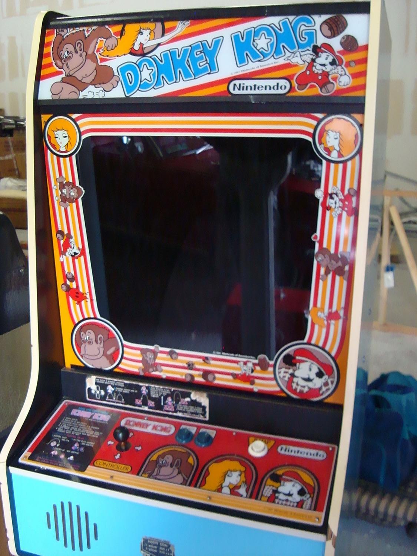 1980's Nintendo Donkey Kong Original Arcade Machine