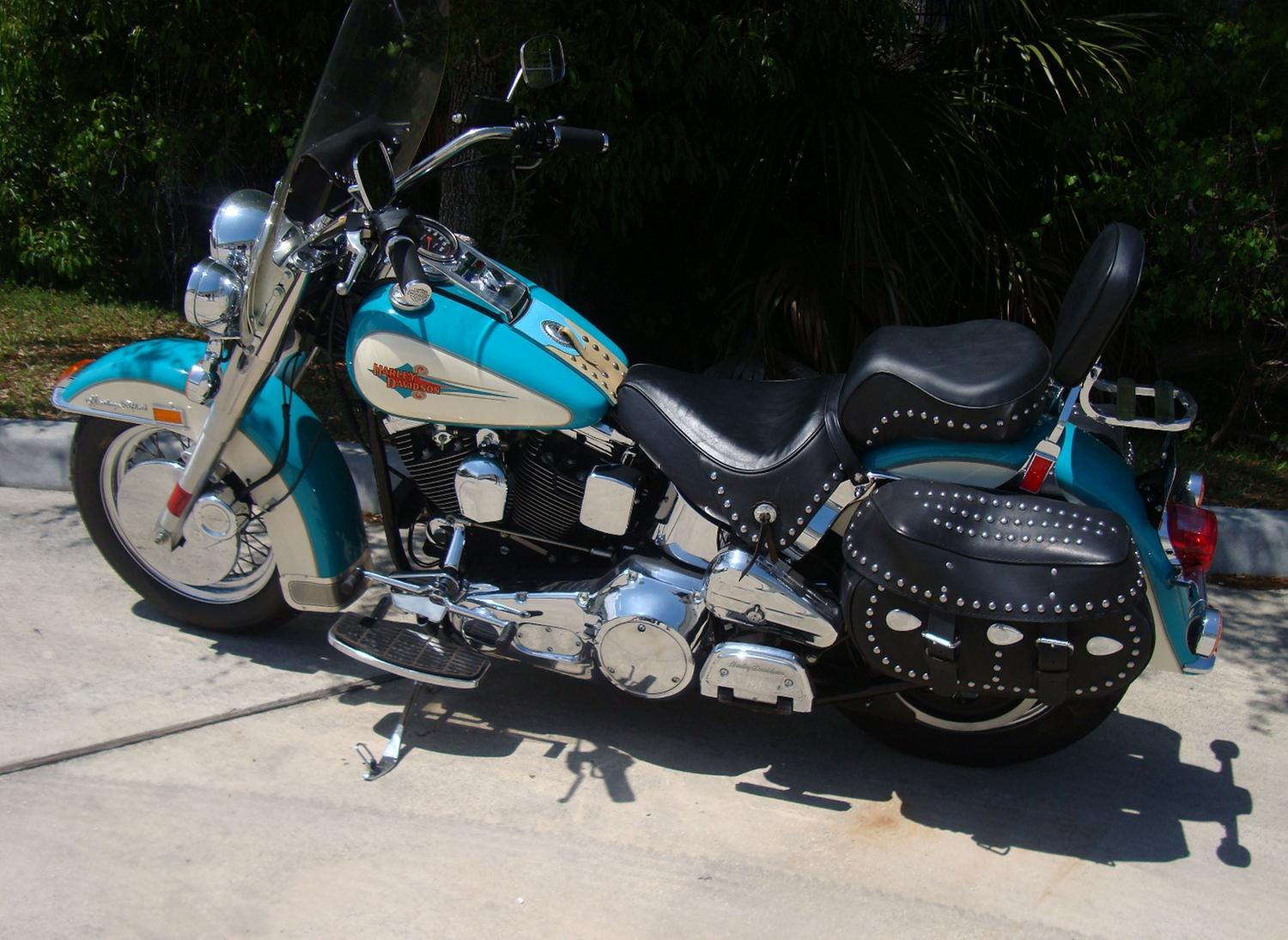 1992 Harley Davidson Softail Heritage Classic Motorcycle With 453