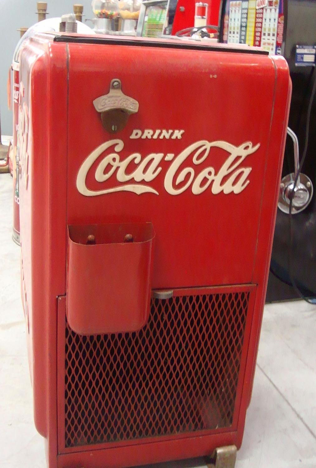 westinghouse coca cola machine
