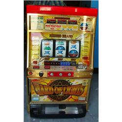 Mizuho Ward of Lights Pachislo Skill Stop Slot Casino Machine.