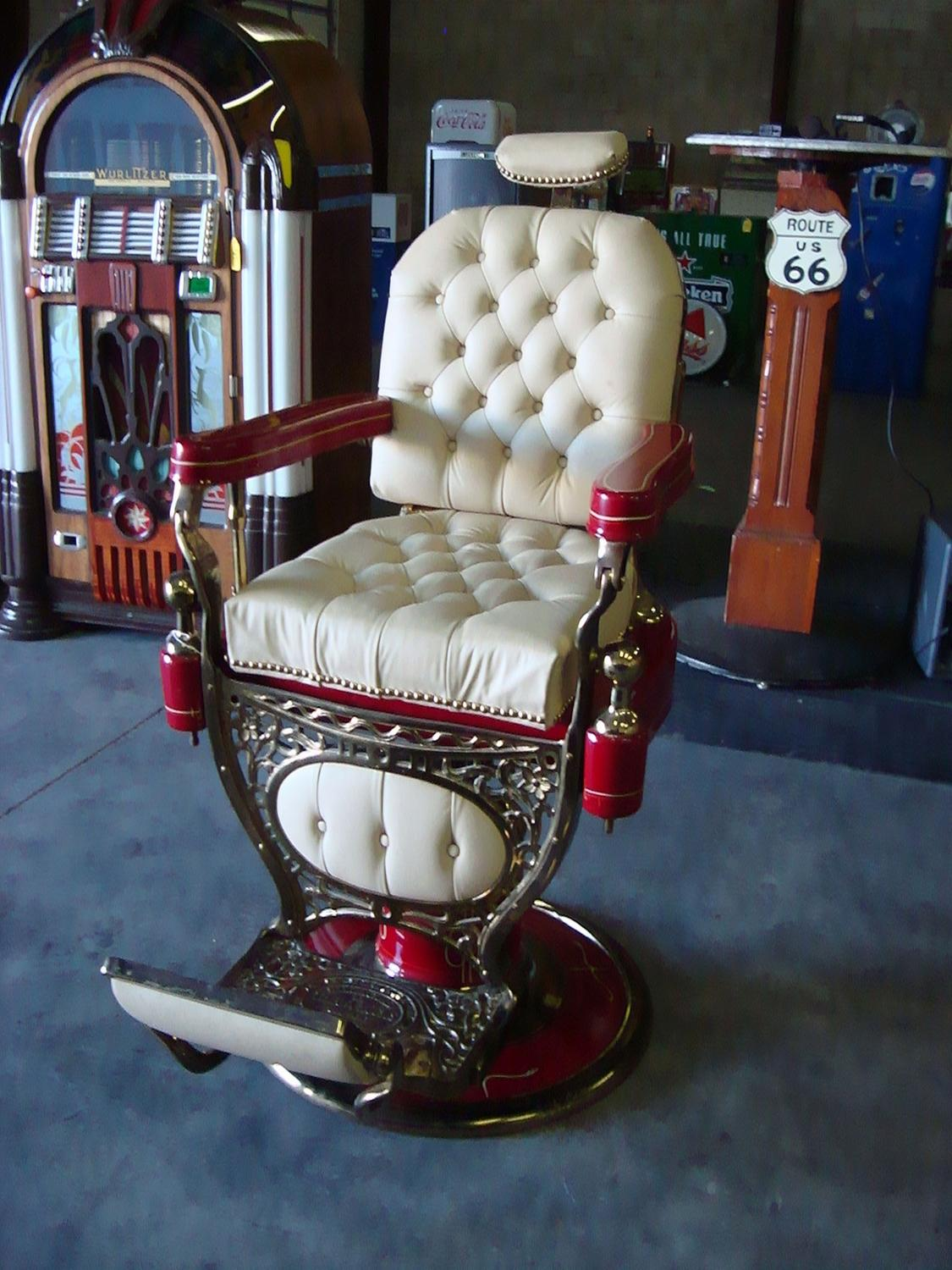 the finest barber chair on planet earth drake al capone u0026 history loading zoom - Barber Chairs For Sale