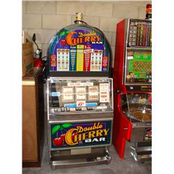 Double Cherry Bar Slot I.G.T. Machine