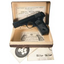 Colt Model 1903 Semi-Automatic Pocket Pistol with Original Box