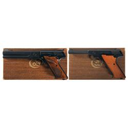 Two Boxed Colt 22 Caliber Semi-Automatic Pistols