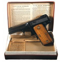 Boxed Excellent Smith & Wesson 35 Semi-Automatic Pistol