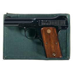 Inscribed Smith & Wesson Pistol with Factory Box Letter and Wesson Family Association