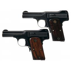 Collector's Lot of Two Smith & Wesson Pocket Pistols