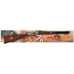 Winchester Model 94 John Wayne Commemorative Lever Action Carbine with Box and Scabbard