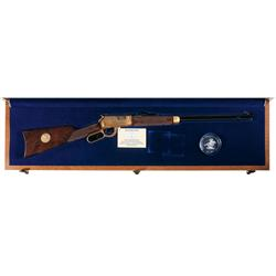 Scarce Limited Edition Cased Winchester Model 9422XTR Boy Scout 75th Anniversary Deluxe Eagle Scout