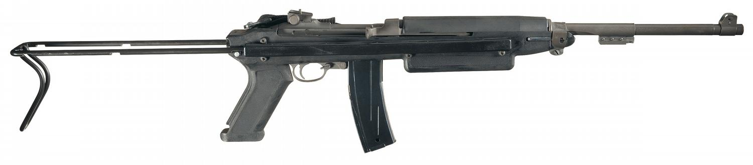 Image 1  Early WWII Inland M1  M1 Carbine Synthetic Stock