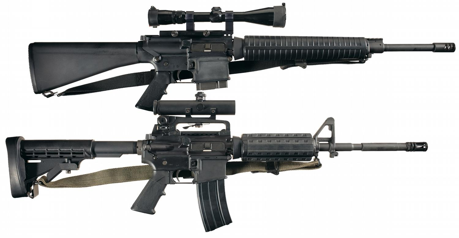 Semi automatic rifle video search engine at