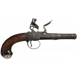 Pyke Bridgewater Flintlock Pocket Pistol