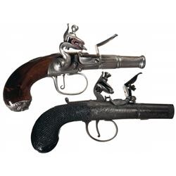 Collector's Lot of Two Flintlock Pistols