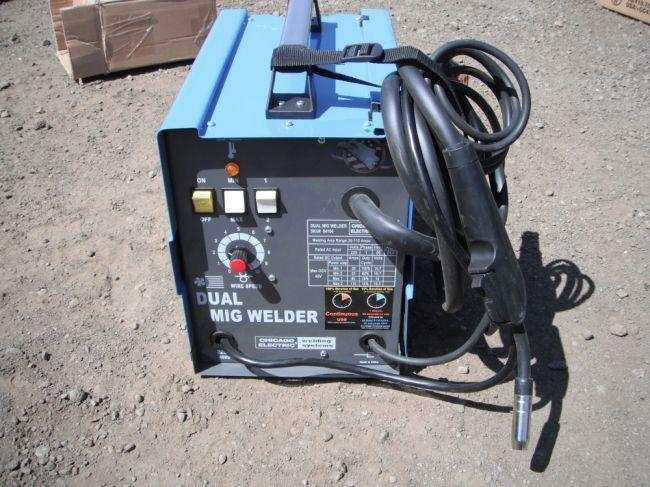 Chicago Electric Dual MIG Welder