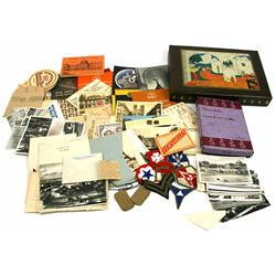 WWII GI TOUR SOUVENIR ARCHIVE NAMED
