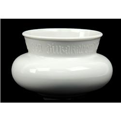 ALLACH POTTERY WWII SS PRESENTATION BOWL 1939