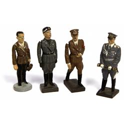 RARE WWI NAZI LEADER LINEOL ELASTOLIN TOY SOLDIERS