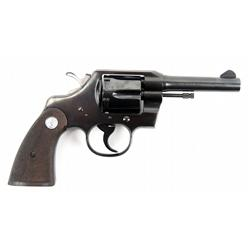 COLT OFFICIAL POLICE .38 SPECIAL CTG REVOLVER
