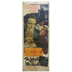 VINTAGE 1941 JEKYLL & HYDE MOVIE POSTER INSERT