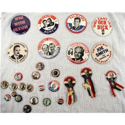 POLITICAL BUTTON LOT THEY CANT LICK OUR DICK