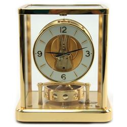 LE COULTRE ATMOS PERPETUAL MOTION CLOCK W/ BOX