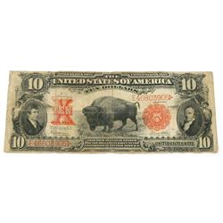 LARGE SIZE CURRENCY BISON BUFFALO U.S. NOTE