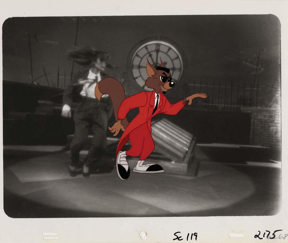 Image 1 Two Paula Abdul Music Video Production Cels From Opposites Attract