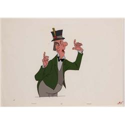 Original production cel of Edgar from The Aristocats