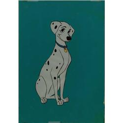 Original model cel of Perdita from 101 Dalmatians