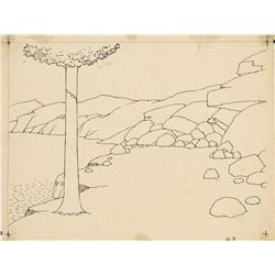 Gertie the Dinosaur Winsor McCay original drawing 1914