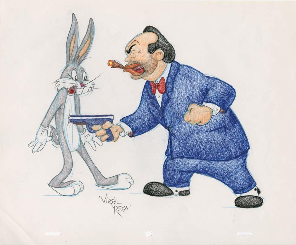 Gangster Bugs Bunny Have Guns