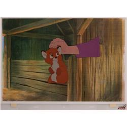The Fox and the Hound pair of original production cels
