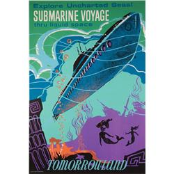 Tomorrowland Submarine Voyage attraction poster