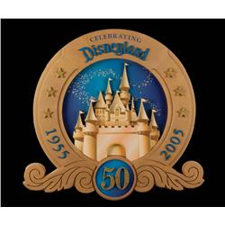 Disneyland 50th Anniversary sign