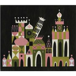 "Mary Blair original ""It's a Small World"" concept painting"