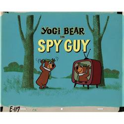 "Yogi Bear Episode Title Card from the episode ""Spy Guy"""