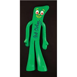 Gumby, Pokey and Blockheads toys signed by Art and Gloria Clokey